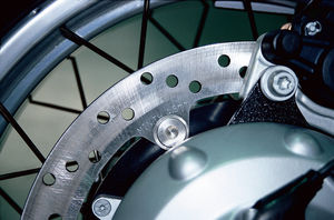thickness dimension on brake rotors