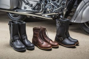 indian motorcycle redwing boots