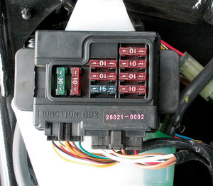 pull the appropriate fuse or disconnect the battery before making your connections