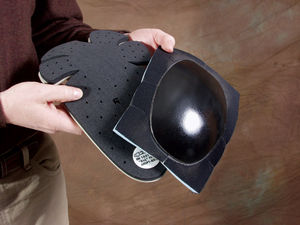 Shoulder pads for motorcycle jackets