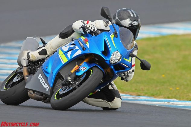 Yep, the GSX-R1000R is firmly in the hunt for class supremacy. Stay tuned for an epic superbike shootout!
