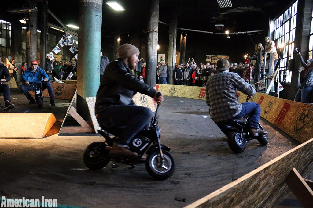 The mini-bike races at the 2017 ONE Show were a hoot!