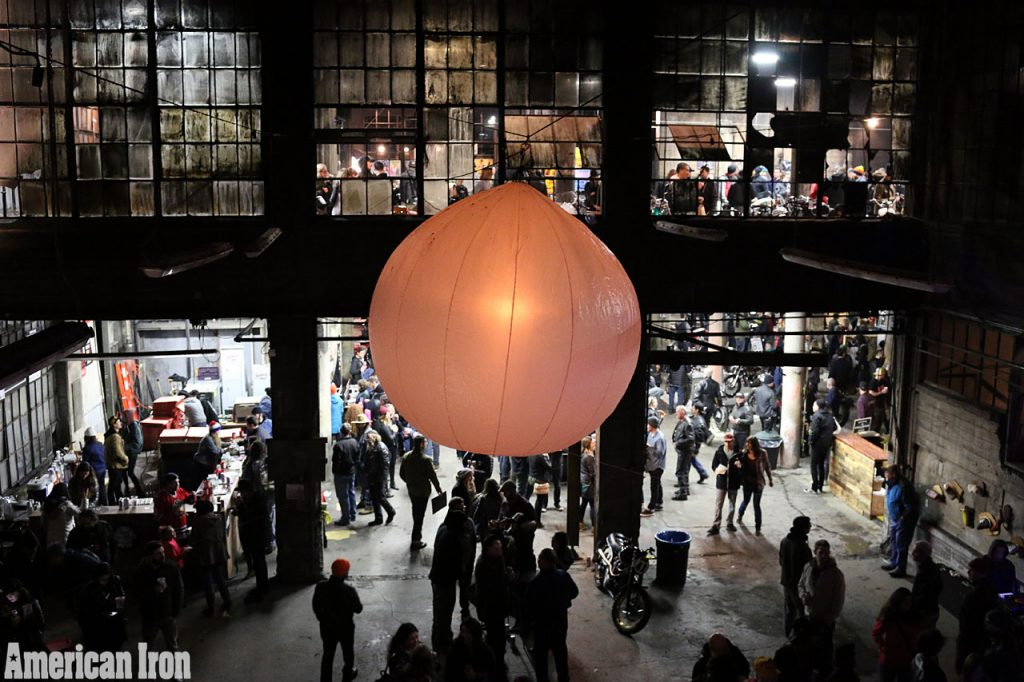 The 2017 ONE Moto Show breathed life into a 100 year old foundry in an industrial district in Portland.