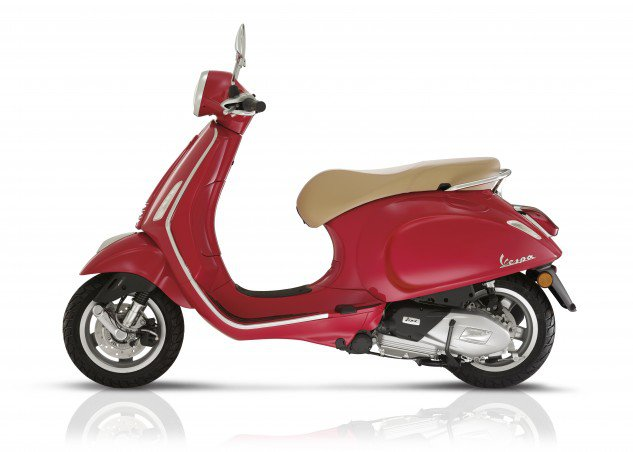 Vespa's new Primavera gets a pair of new Euro 4 Singles, 125 or 150cc, and standard ABS