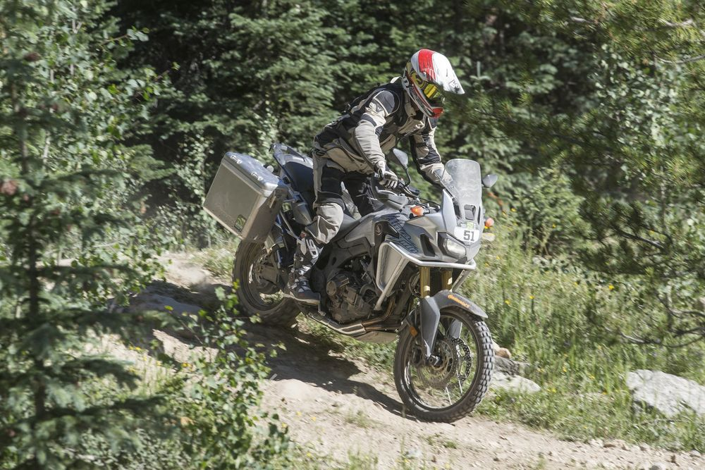 The Africa Twin does Colorado