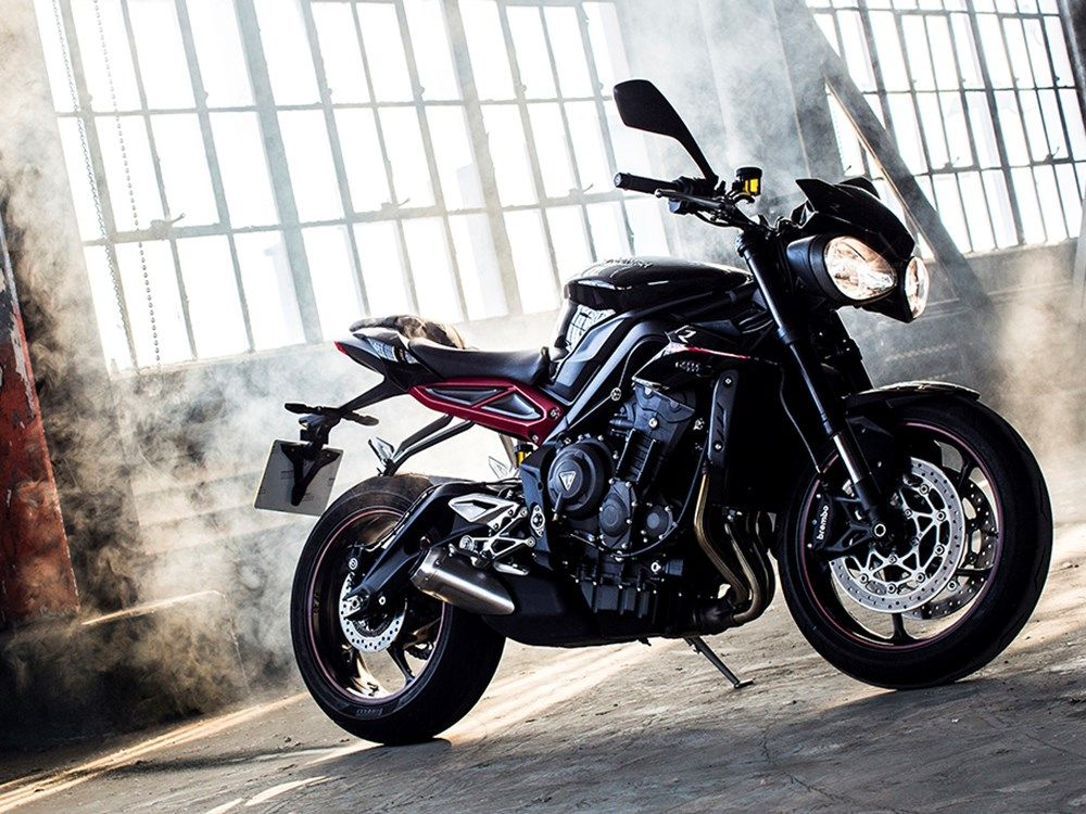 Triumph's new Street Triple has more power, performance and torque than the previous version, and an even richer soundtrack