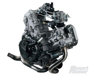 2017 Suzuki SV650 V-twin engine